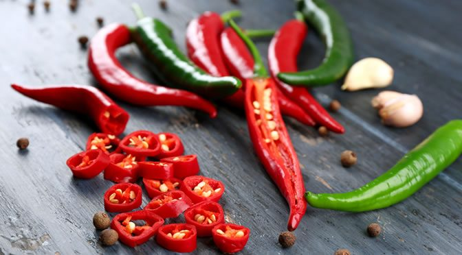 Chili Pepper Has A Burning Effect On Breast Cancer Cells